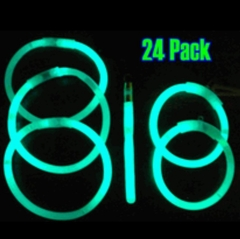 Glow Stick Jewelry Combo Pack (24 Pack)