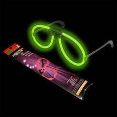 Glowing Party Glowstick Raver Glasses