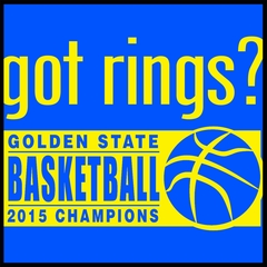Got Rings? Golden State2015  Basketball Champs Mens T-shirt