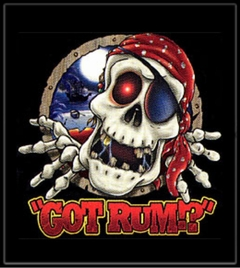 Got Rum? Pirate Skeleton T-Shirt