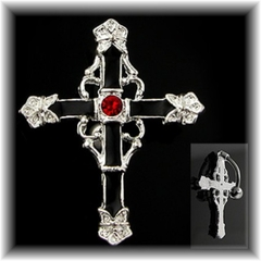 Navel Body Jewelry - Gothic Cross Navel Jewelry