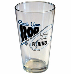 Grab Your Rod Pint Glass
