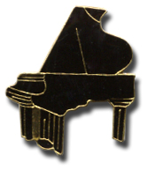 Grand Piano Lapel Pin