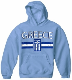 Greece Vintage Shield International Hoodie