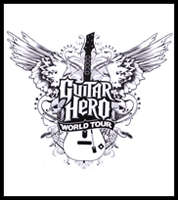 "Guitar Hero World Tour ""Winged Axe"" T-Shirt"