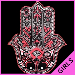 Hamsa - Hand of Protection Ladies T-shirt