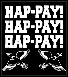HAP-PAY! HAP-PAY! HAP-PAY! Men's T-Shirt