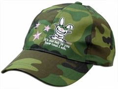 Happy Bunny It's Not Fair Camo Girls Hat