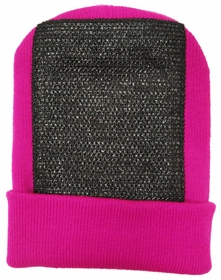 Head Spin Beanies - BBOY Headspin Break Dance Beanie (Hot Pink / Black)