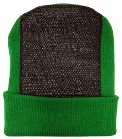 Head Spin Beanies - BBOY Headspin Break Dance Beanie (Kelly Green / Black)