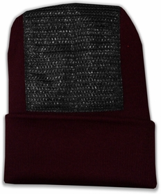 Head Spin Beanies - BBOY Headspin Break Dance Beanie (Maroon / Black)