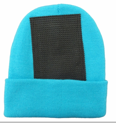 Head Spin Beanies - Turquoise Headspin Beanie<!-- Click to Enlarge-->