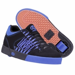 Heely's Caution Roller Shoe (Black/Royal Blue)