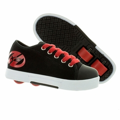 Heely's Fresh X2 Plus Roller Shoe, Black/Red