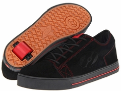 Heely's Plush Roller Shoe (Black/Red)