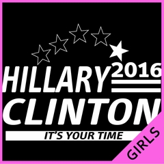 Hillary Clinton Presidential Campaign 2016 Ladies T-shirt