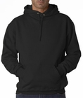 Hooded Sweatshirt :: Unisex Pull Over Hoodie (Black)
