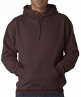 Hooded Sweatshirt :: Unisex Pull Over Hoodie (Brown)