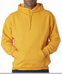 Hooded Sweatshirt :: Unisex Pull Over Hoodie (Gold)<!-- Click to Enlarge-->