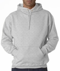 Hooded Sweatshirt :: Unisex Pull Over Hoodie (Grey)