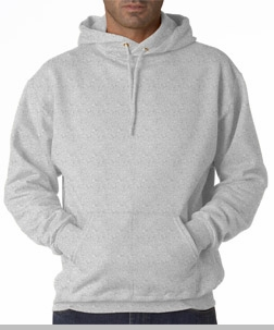 Hooded Sweatshirt :: Unisex Pull Over Hoodie (Grey)<!-- Click to Enlarge-->