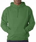 Hooded Sweatshirt :: Unisex Pull Over Hoodie (Kelly Green)