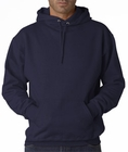 Hooded Sweatshirt :: Unisex Pull Over Hoodie (Navy)