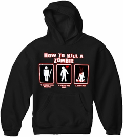 How To Kill A Zombie Hoodie
