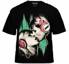 "Hustler Clothing ""Lovers Neon"" T-Shirt (Black)"