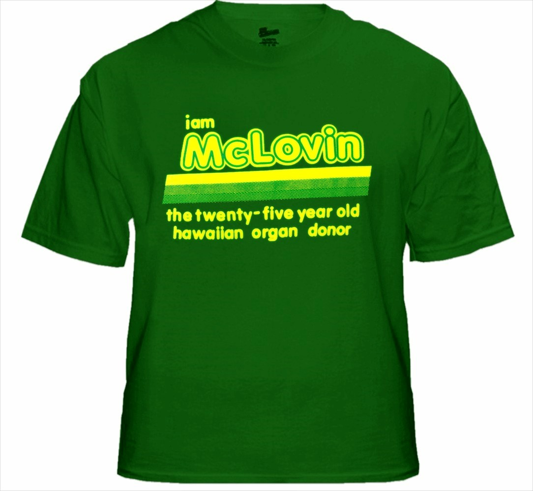 I am mclovin t shirt from the movie superbad gamestrikefo Image collections