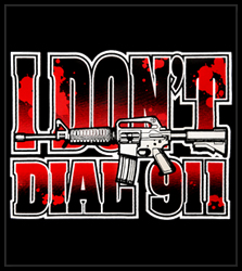 I Don't Dial 911 Men's T-Shirt