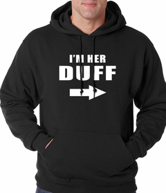 I'm Her DUFF Arrow Designated Ugly Fat Friend Adult Hoodie