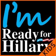 I'm Ready For Hillary Kids T-shirt