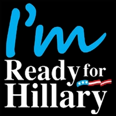 I'm Ready For Hillary Mens T-shirt
