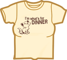I'm Whats For Dinner Girls T-Shirt