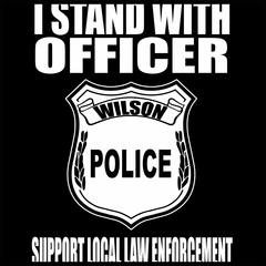 I Stand with Officer Wilson Men's T-Shirt