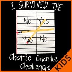 I Survived Charlie Charlie Kids T-shirt