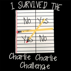 I Survived Charlie Charlie Mens T-shirt
