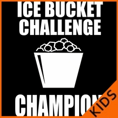 Ice Bucket Challenge Champion Kids T-Shirt