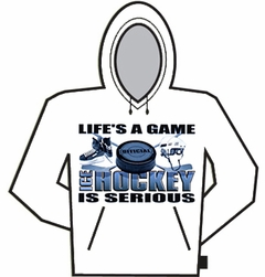 Ice Hockey Is Serious Hoodie