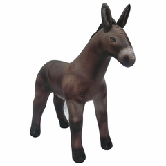 Incredible Lifelike Inflatable Donkey (70 Inches Long)