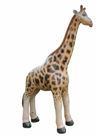Incredible Lifelike Inflatable Giraffe (84 Inches Long)