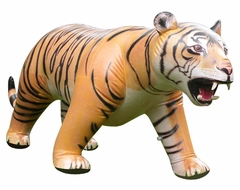 Incredible Lifelike Inflatable Tiger (84 Inches Long)