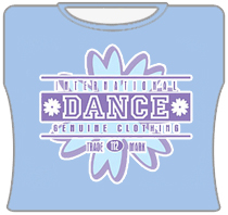 International Dancing Girl T-Shirt