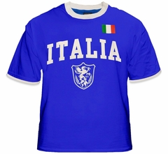 International Soccer Jersey Shirts -Italia World Cup Jersey T-Shirt