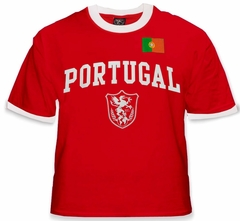 International Soccer Jersey Shirts - Portugal World Cup Jersey T-Shirt