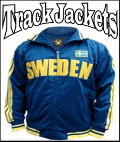 International Soccer Track Jackets for Men & Woman