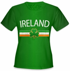 Ireland Vintage Shield International Girls T-Shirt