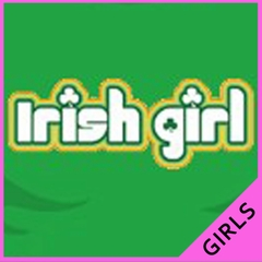 Irish Girl Girls T-Shirt