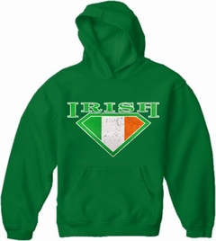 Irish Super Shield Adult Hoodie